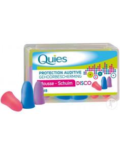 Quies Protection auditive Mousse Disco - Bte 6