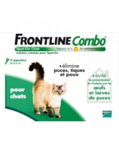 FRONTLINE COMBO CHATS Bte 3...