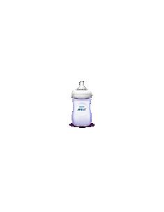 PHILIPS Avent Biberon 1 biberon Natural, 260 ml, Tétine à débit lent, 1 mois et +