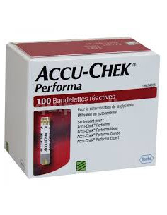 ACCU CHEK PERFORMA Bte 100...