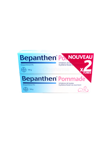 Bepanthen Pommade 100g LOT de 2