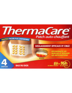 ThermaCare Dos Bte 4 Patches