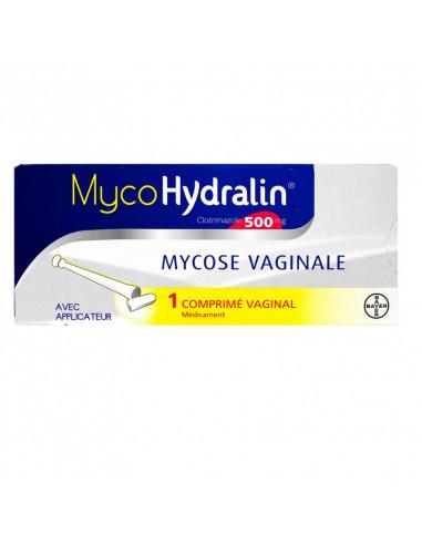 Myco Hydralin 500mg Bte 1 Cp Vaginal