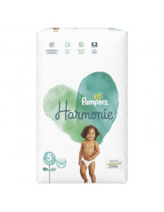 PAMPERS Couches HARMONIE...