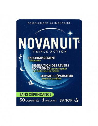 Novanuit Triple Action Bte 30