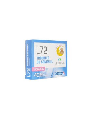 LEHNING L72 Bte 40 Cp OROdispersibles