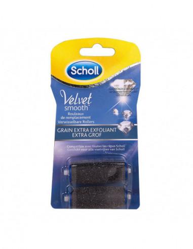 SCHOLL Velvet Smooth Bte 2 Recharges cristaux