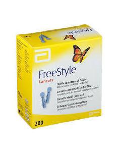 ABBOTT Freestyle Papillon Lancettes 28G Bte 200