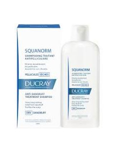 SQUANORM Shampoo Anti-Pellicules Sèches 200ml